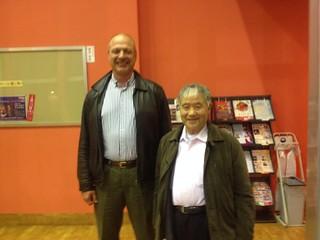 Meeting Higaonna Morio Sensei | by Mark Tankosich