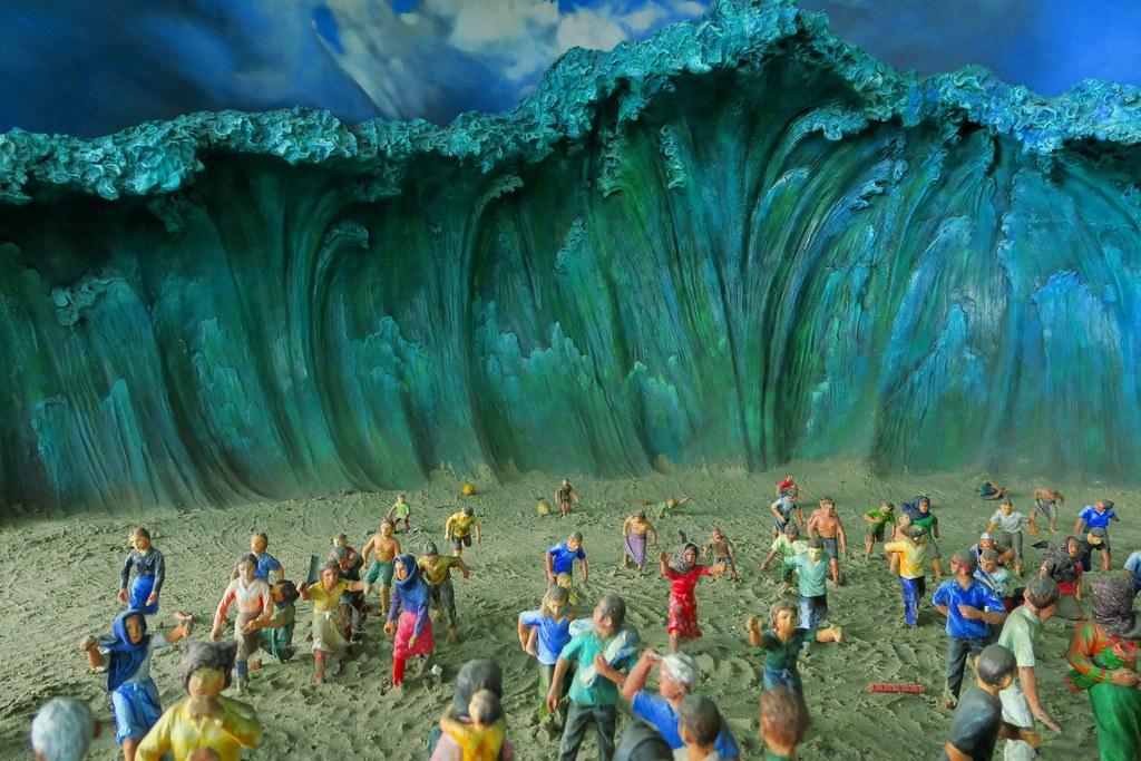 Miniatur Tsunami Aceh 2004 Banda Aceh Indonesia Flickr