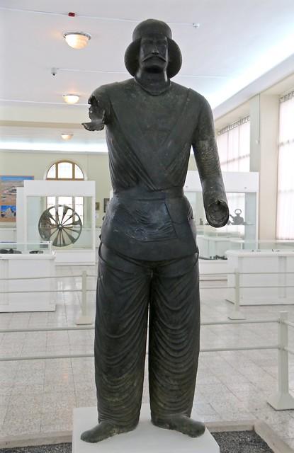 Statue of a Parthian Nobleman, Museum of Ancient Iran, Tehran, Iran