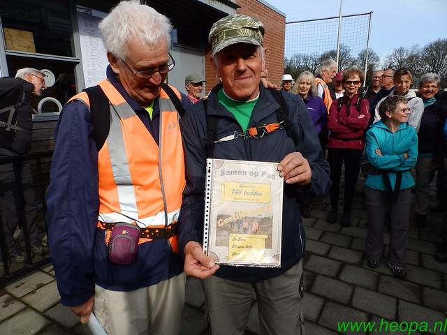 2016-04-13    2e Dag van Lunteren 25 Km  (14)