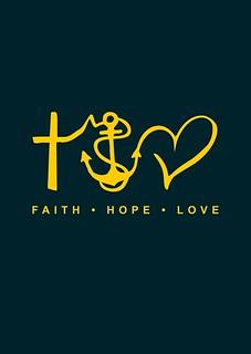 1 Corinthians 13:13 - Faith . Hope . Love
