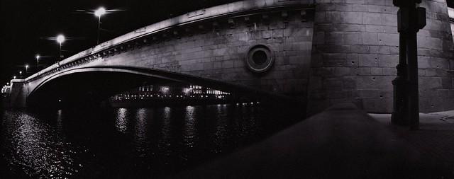 Moscow bridge with Zenit-Horizon