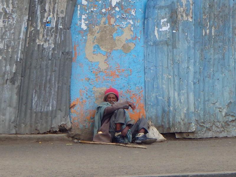 Beggar, Addis Ababa