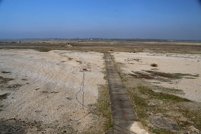 View from the Bomb Balistics building, Orford Ness