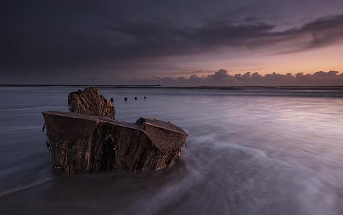 lighthouse beach sunrise dawn sand filter spittal d90 elidor
