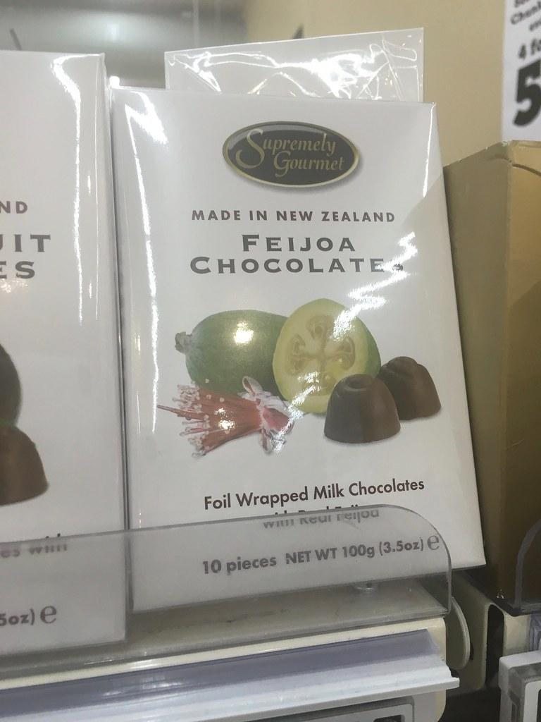 Feijoa Chocolate New Zealand Candy