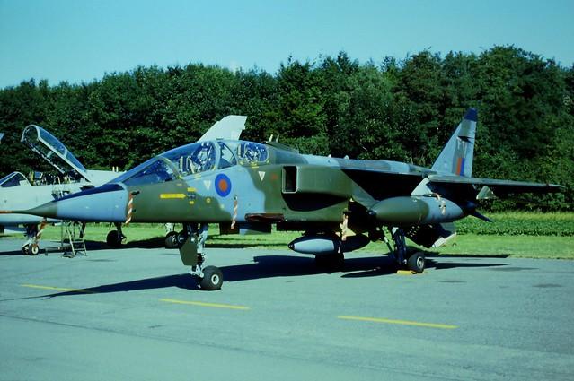 Jaguar T-2B XX835/FY 41Sq RAF. Brustem Air Base (Open-House), 07-09-1996.