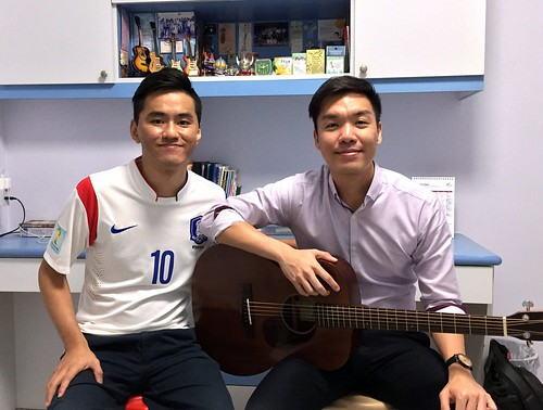 Private guitar lessons Singapore Sherwin