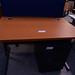 Cherry laminate desk