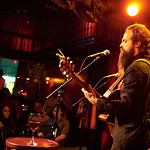 Tue, 19/04/2016 - 5:03pm - Sam Beam (Iron & Wine) and Jesca Hoop premiere their beautiful duets at Rockwood Music Hall in New York City for an audience of WFUV Marquee Members, 4/18/16. Hosted by Rita Houston. Photos by Gus Philippas