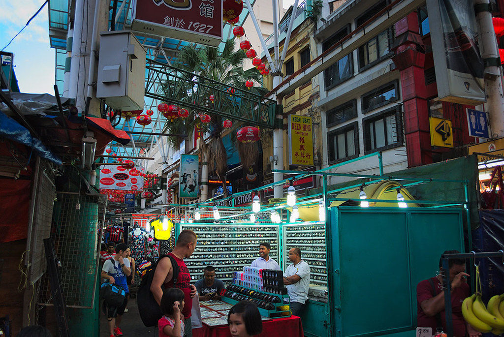 Flea Market Petaling Street in Malaysia