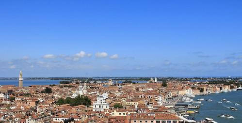 blue venice sky italy azul veneza italia