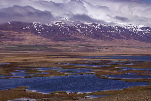 travel snow mountains nature water beautiful clouds river landscape iceland scenery pretty purple ísland héraðsvötn