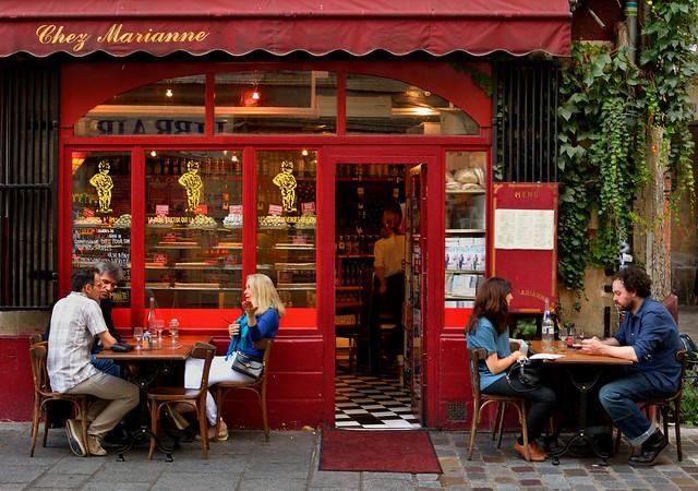 Paris le Marais : Chez Marianne