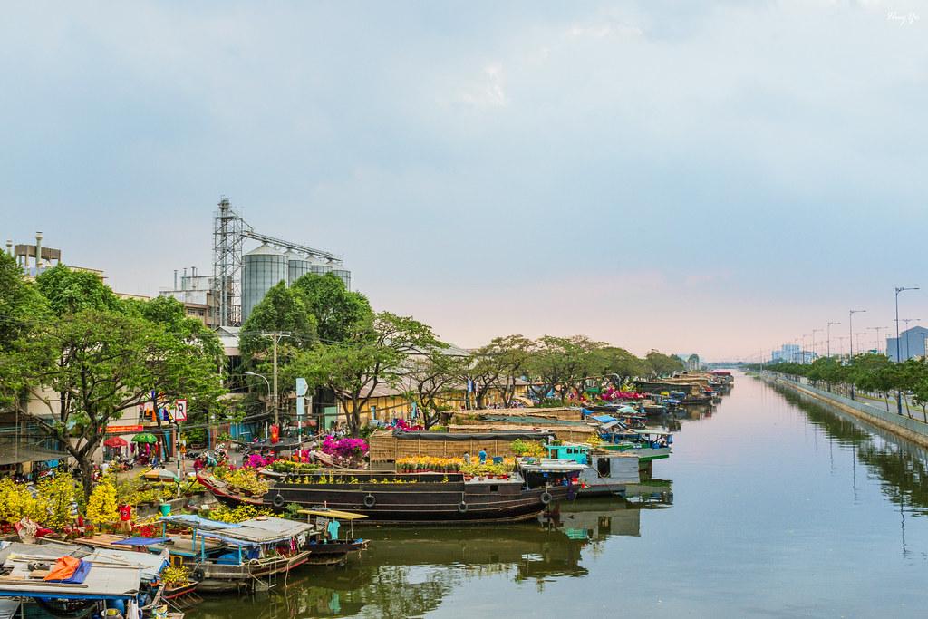 Binh Dong Floating Flower Market.Bến Binh đong Tết 2016 Spring Flower Market At Binh Dong Flickr