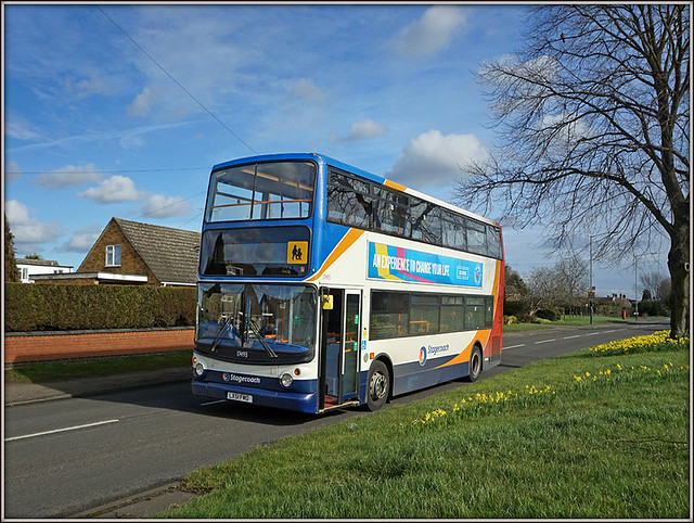 Stagecoach 17493, Hillmorton