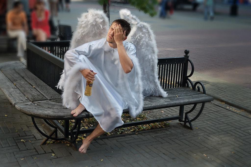 Ангел прикольный картинки