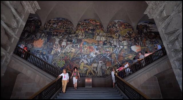 CDMX PALACIO Nacional Diego Rivera's Murales