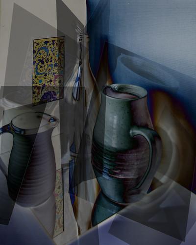 still life Cubist style~~HSS