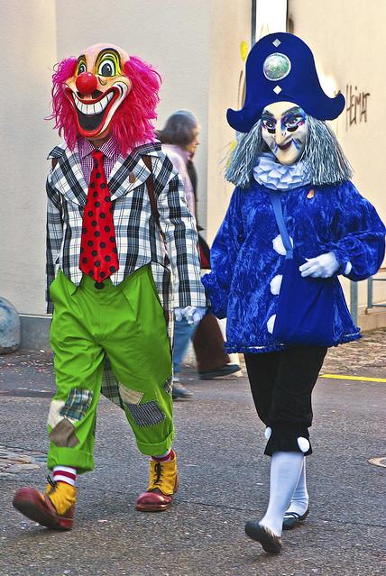 Basel's Carnival Basler Fasnacht 2014,. No.0015.