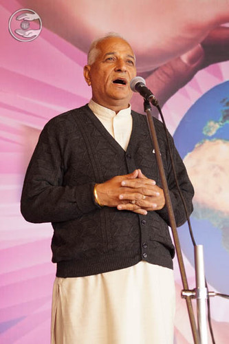 SNM Branch Sanyojak Radhey Shyam expresses his views