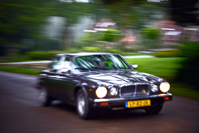 Jaguar XJ-6 4.2 Mark I Series III 1984 panning (2549)