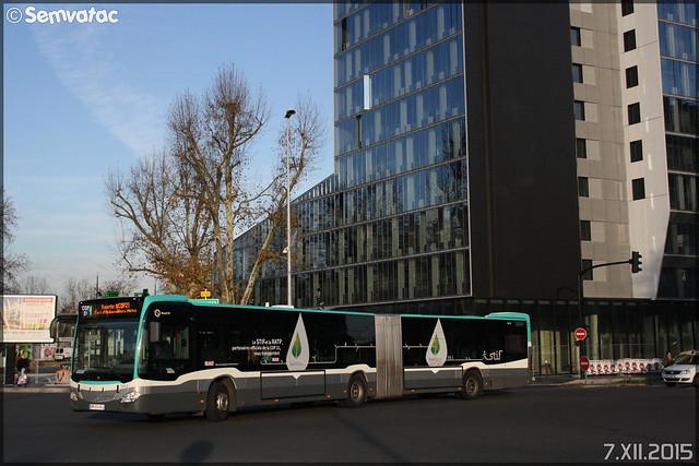 Mercedes-Benz Citaro G C2 – RATP (Régie Autonome des Transports Parisiens) / STIF (Syndicat des Transports d'Île-de-France) n°5419