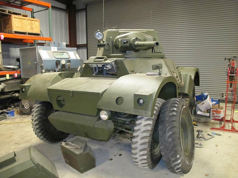 Daimler Armoured Car Mk II 1