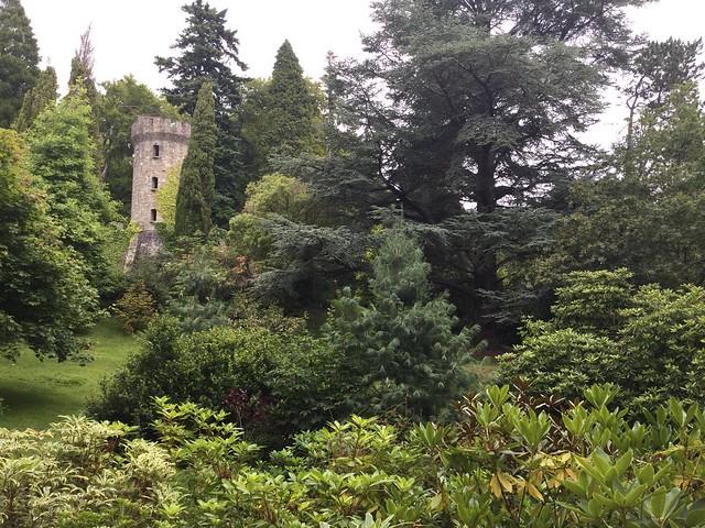 Bucólico paisaje en Powerscourt House. Condado de Wicklow (Irlanda).