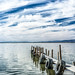 Pier in Lake by CEBImagery.com