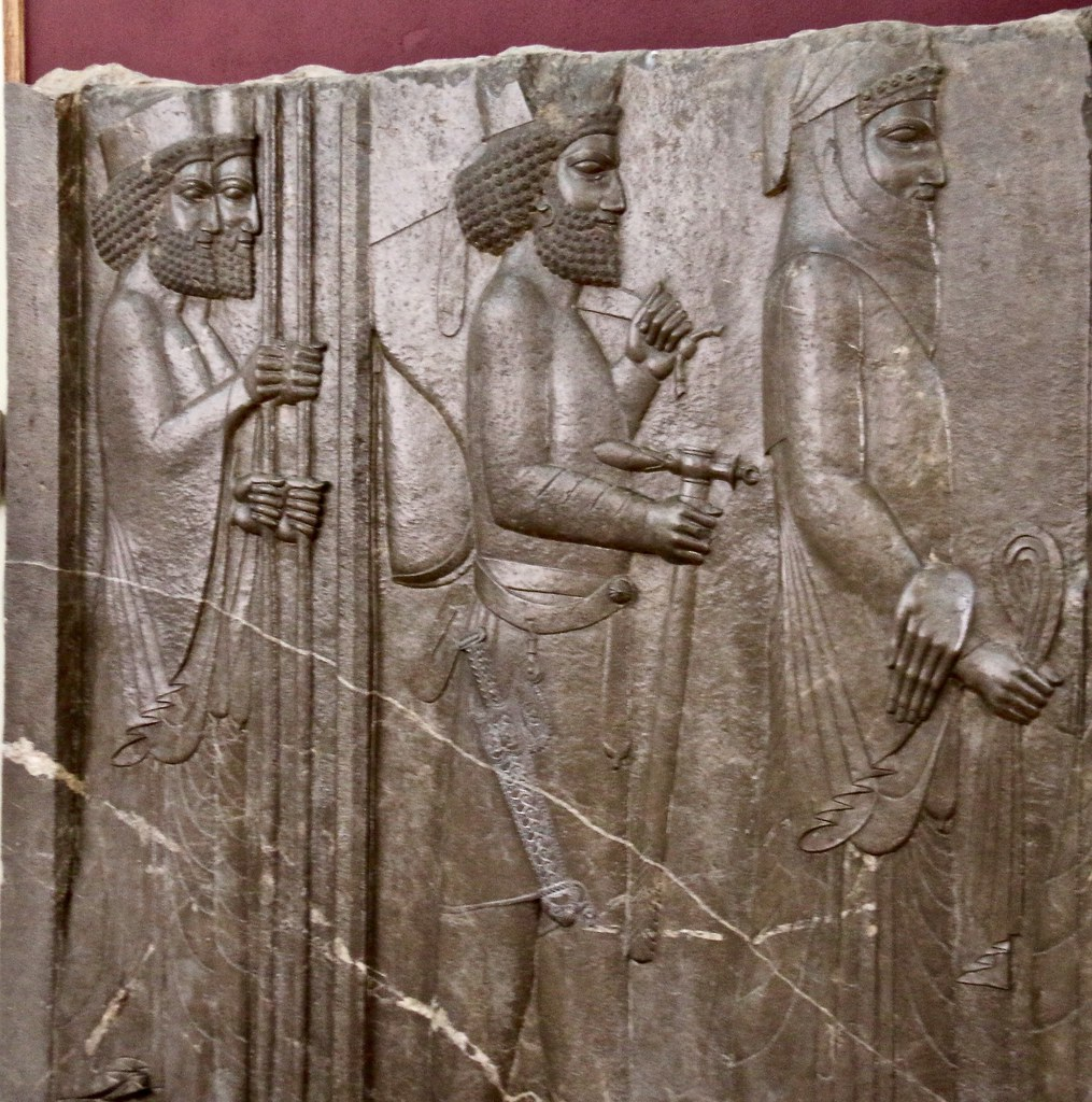 Relief from Persepolis, Museum of Ancient Iran, Tehran, Iran