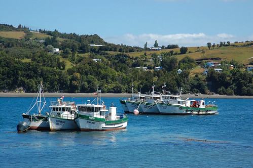 Views of Dalcahue, Chiloé, Chile | by blueskylimit