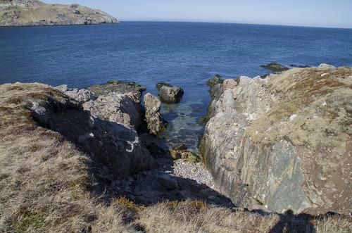 blue sea france water pentax paysage printemps stpierre k30