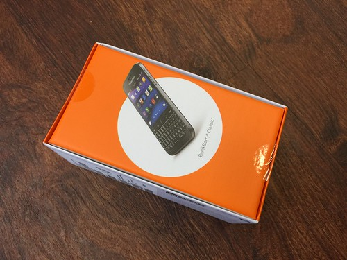 Blackberry Classic cell phone | by danpass