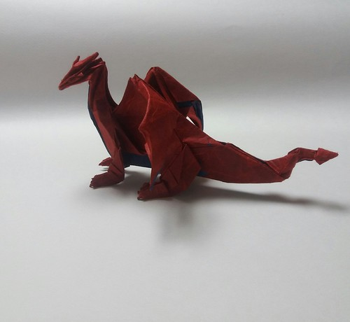 Western dragon | by paper folding artist redpaper