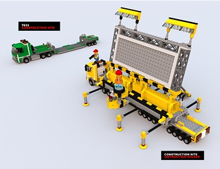 LEGO Movie construction site instruction holder | by Xon_67