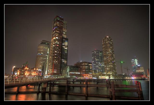Rotterdam NL - Rijnhaven Skyline 01