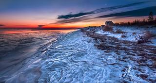 Frozen beach   by Alec_Hickman