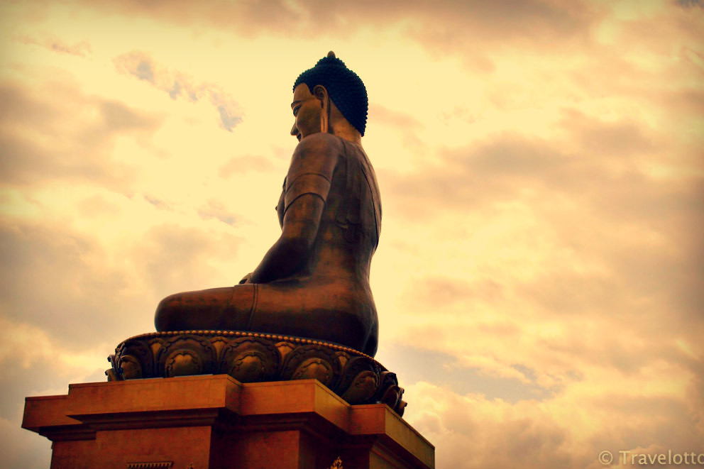 The Largest Sitting Buddha statue in the World at Thimpu