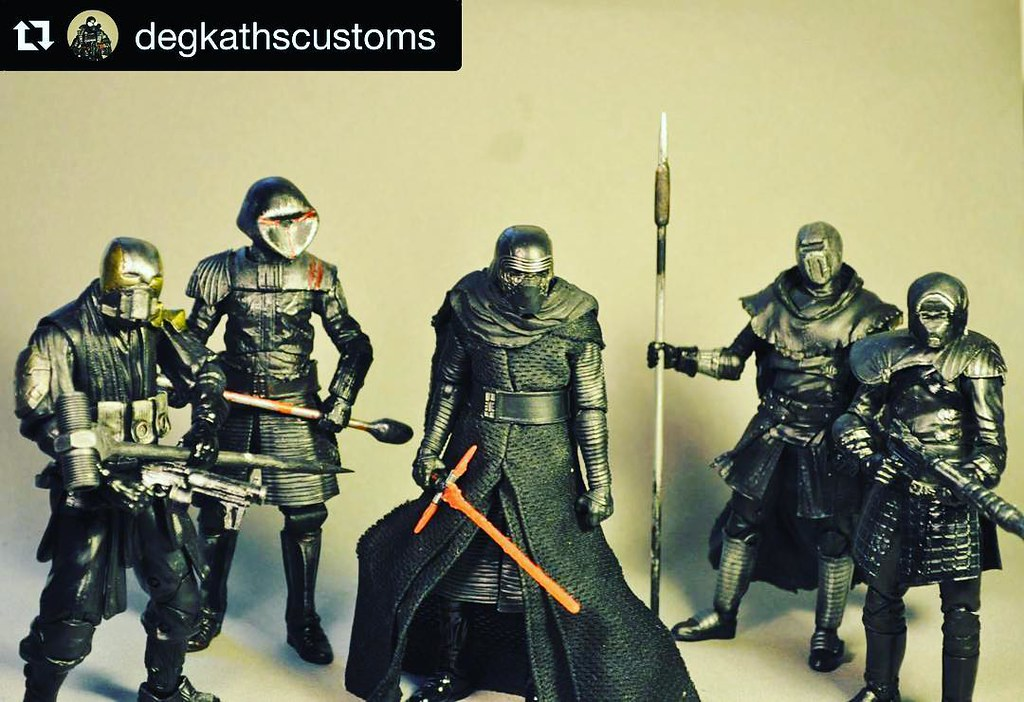 This guy does custom figures  Here's his Knights Of Ren  V