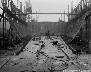 'Muristan' under construction at Readhead's shipyard