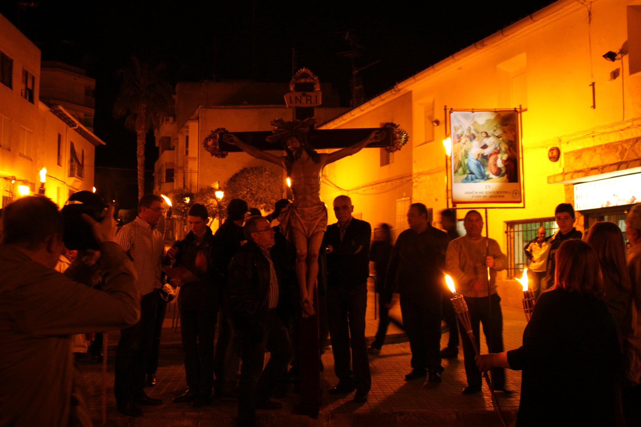 (2014-04-01) -  V Vía Crucis nocturno - Javier Romero Ripoll (29)