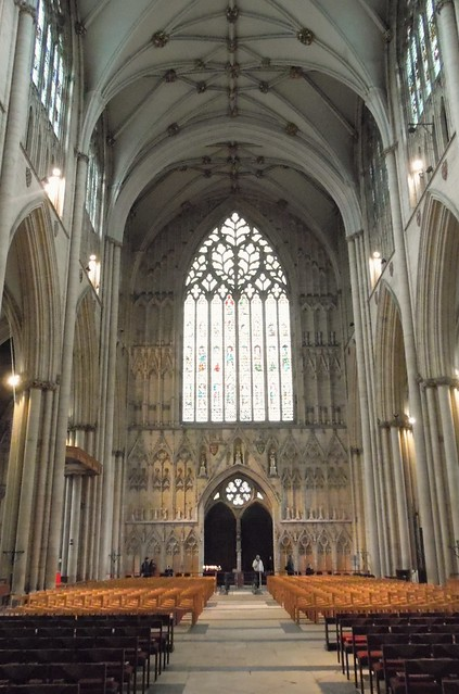 York Minster - Stained Glass and Assorted Seats