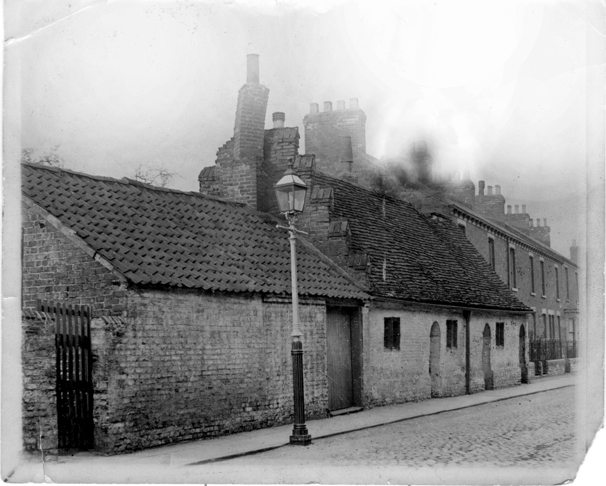 Fox's Hospital, Minster Moorgate, Beverley c.1890 (archive ref PH-5-1)