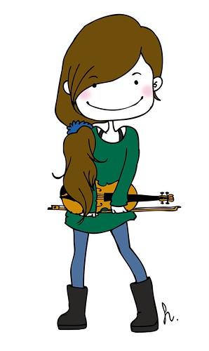 Ilustración de mi alumna Pipas de Girasol