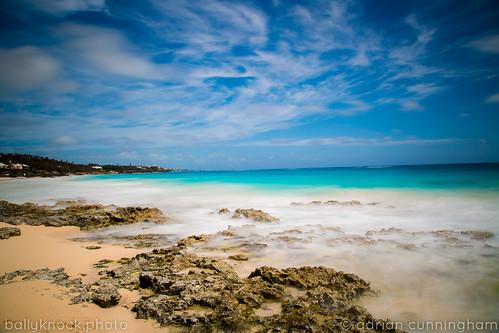 ocean longexposure easter landscape rocks atlantic bermuda grapebay