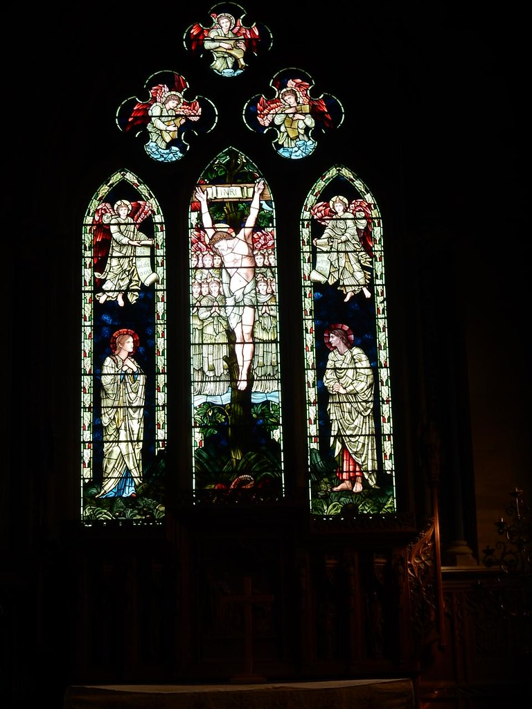 Altar window Ashurst to Eridge St Mary's church, Speldhurst