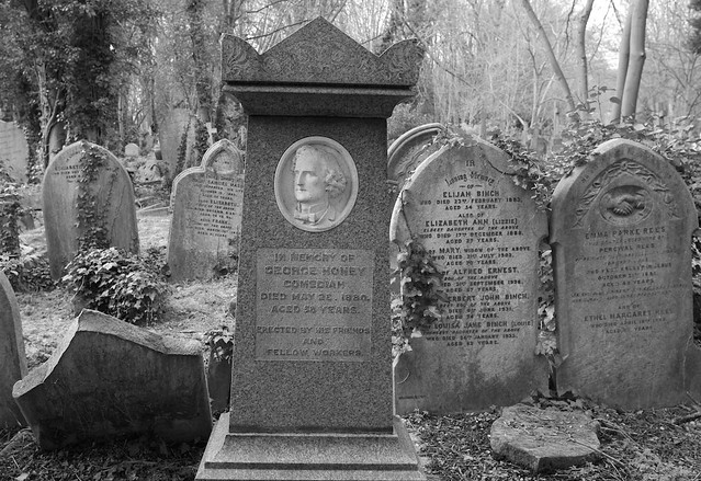 The grave of George Honey