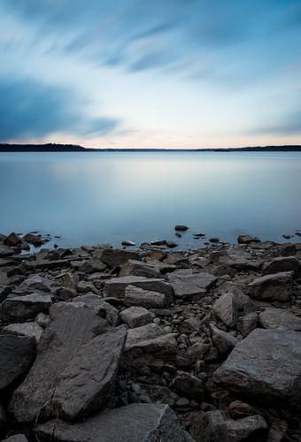 longexposure clouds sunrise canon river washingtondc dc rocks potomac 6d 24105 thomasbarton