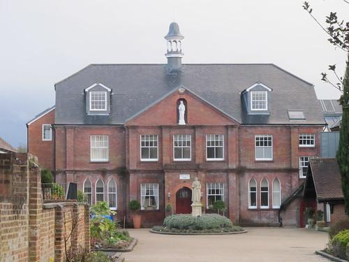 La Sagesse Convent, Romsey SWC Walk 58 Mottisfont and Dunbridge to Romsey taken by Karen C.